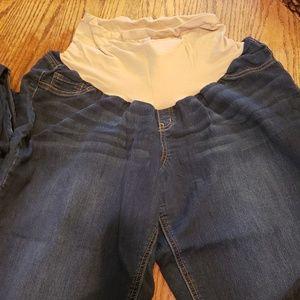 Motherhood Maternity 3x Straight Leg Jeans